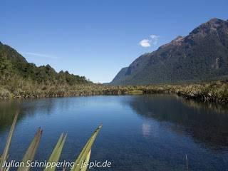 Mirro Lakes Neuseeland