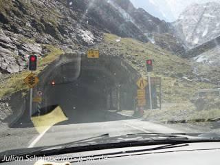 Der Homer Tunnel auf dem Weg zum Milford Sound