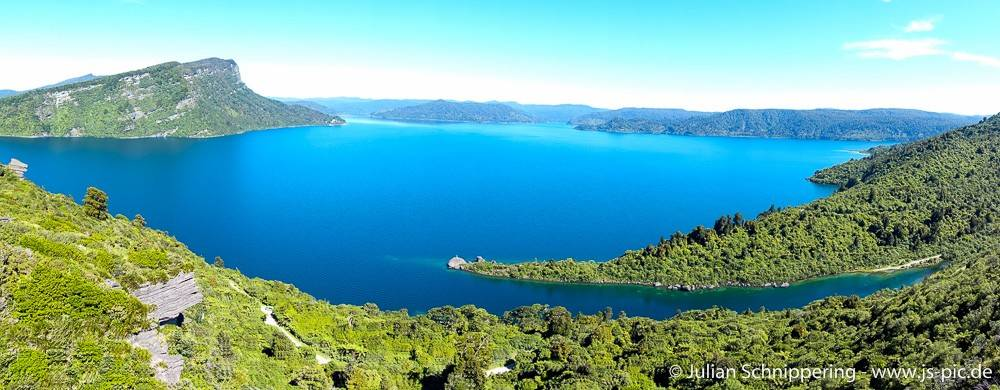 Aussicht auf Lake Waikaremoana