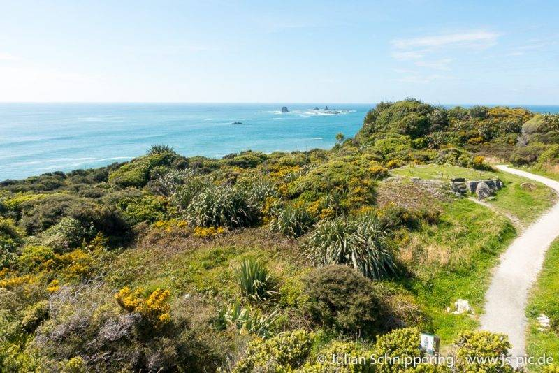 Cape Foulwind liegt abseits der meisten Touristenrouten