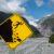 Schild am Fox Gletscher Aussichtspunkt