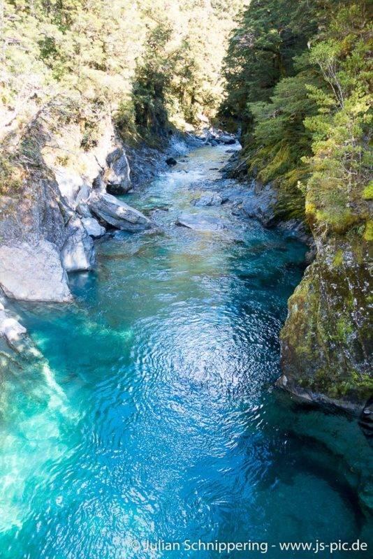 Haast Blue Pools