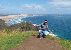 Lukas am Cape Reinga