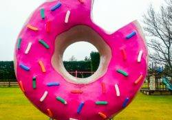 Simpsons Donut in Springfield Neuseeland