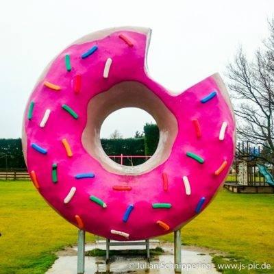 Simpsons Donut in Springfield Neuseeland