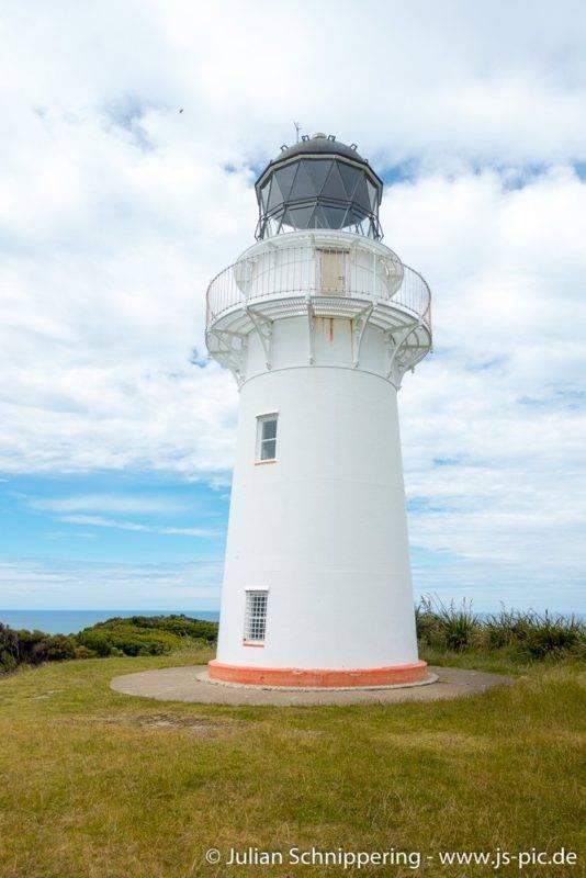 Der Leuchtturm am East Cape Neuseelands