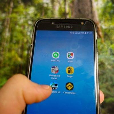 Apps die dir in Neuseeland helfen können