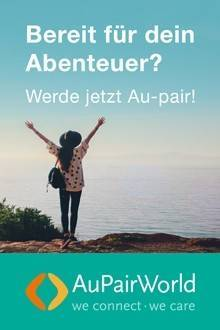 kostenlos anmelden und AuPair werden