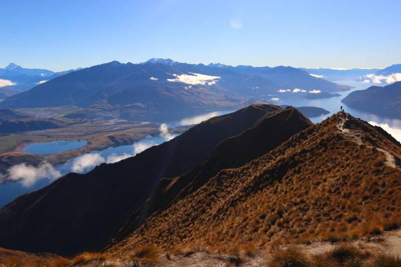 Aussicht vom Roys Peak Neuseeland