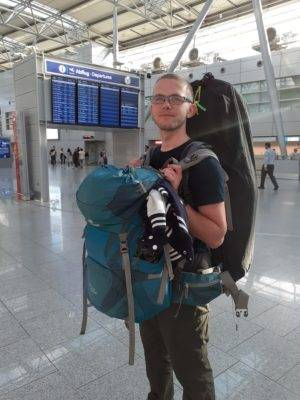 So viel Gepäck solltest du nicht haben!