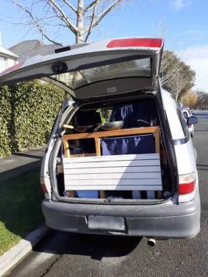 Toyota Estima Kofferraum