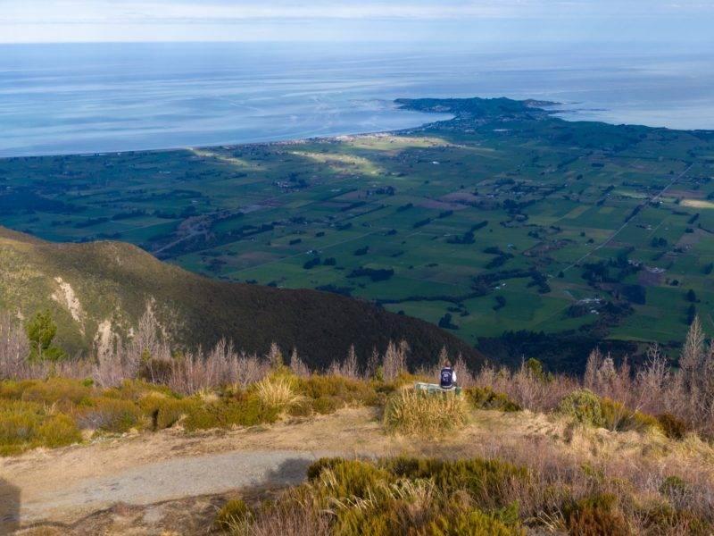 Die Aussicht von Mt. Fyffe