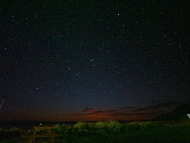 Nachtimmel in Kaikoura