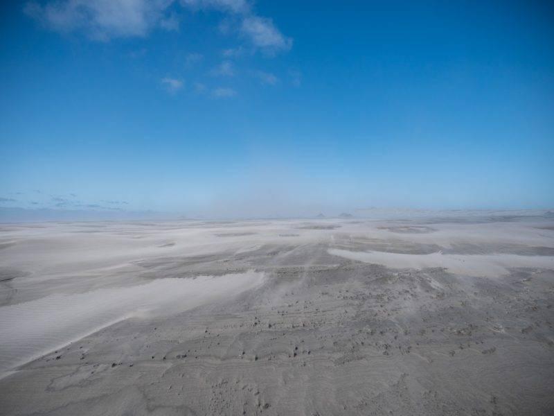 Farewell Spit und viel Sand
