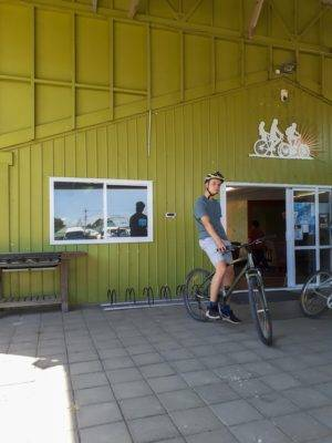 Eine Fahrradtour in Opotiki