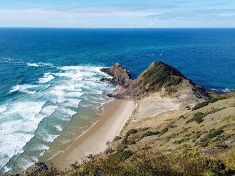 Cape Reinga und der Zusammenfluss der Meere