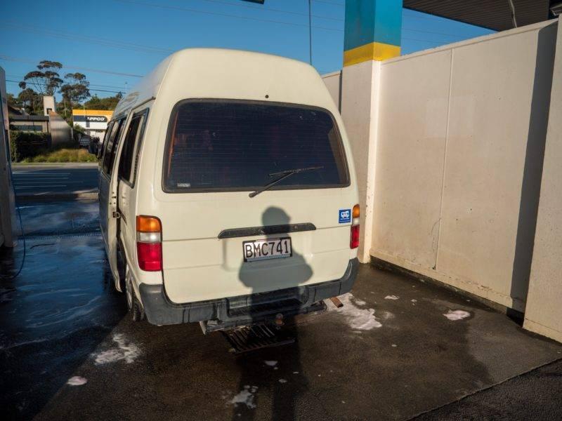 Mein frischgewaschener Van