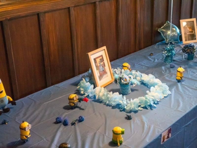 Deko der Minion Hochzeit