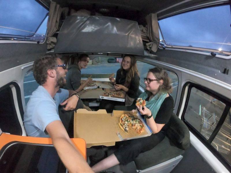 Unser vorletzter Abend im Van