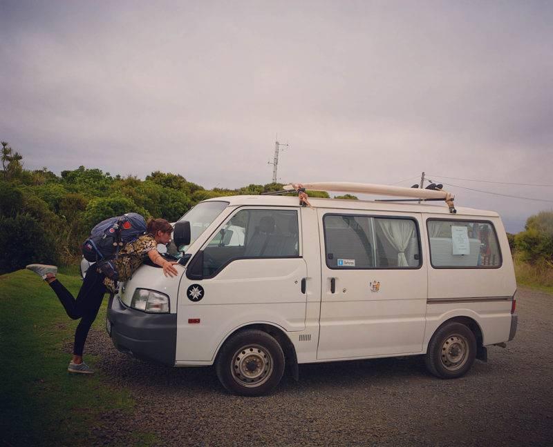 Vicky und ihr Van
