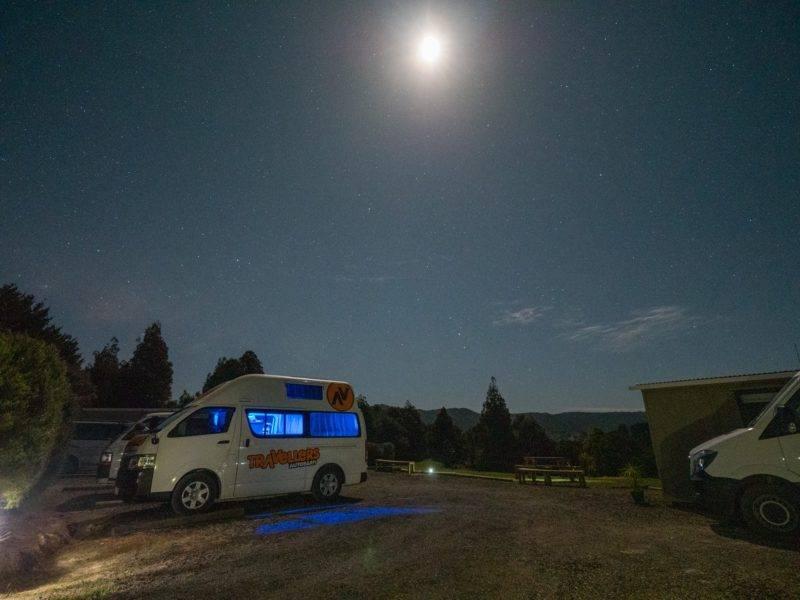 Übernachten im Van