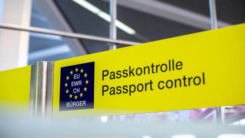 Pass- und Gepäckkontrolle bei der Einreise nach Neuseeland