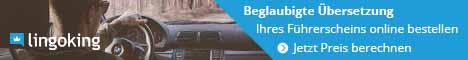 Mit Lingoking kannst du bequem deinen Führerschein übersetzen lassen
