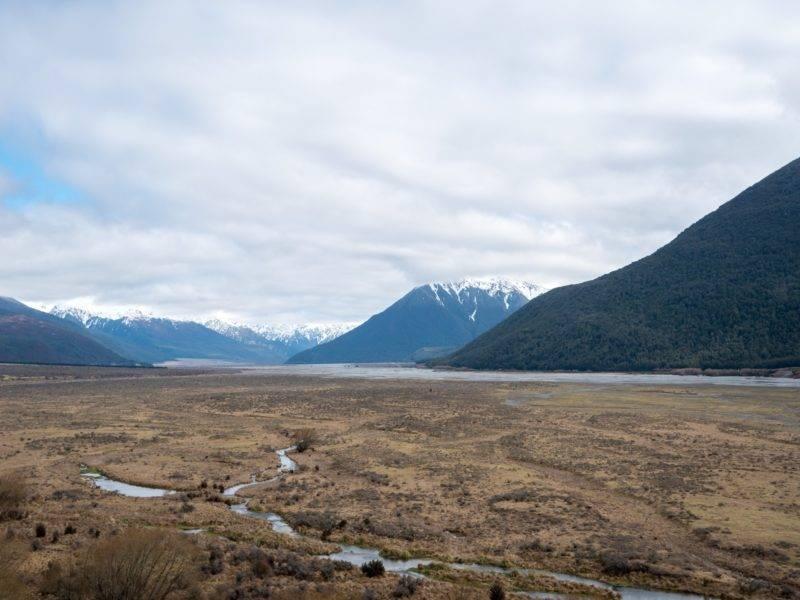 Die Berge um Arthurs Pass