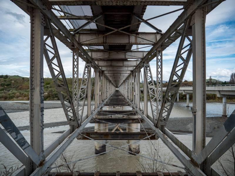 Historische Doppeldeckerbrücke