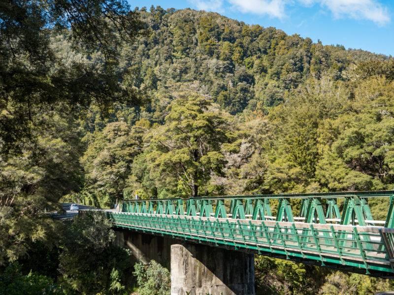 Die Pelorus Brücke in Neuseeland