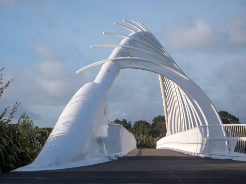 Te Rewa Rewa Brücke Neuseeland