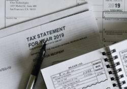 Blick auf alte Tax Statements