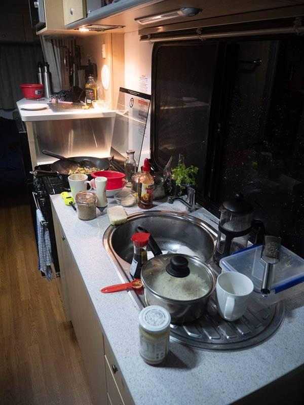 Küche des Apollo Euro Deluxe