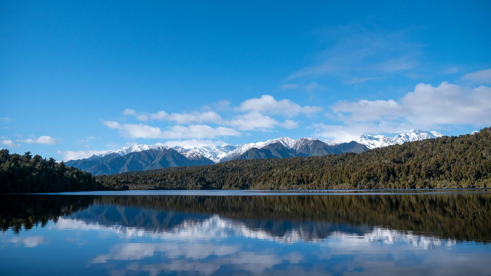 Lake Gault Reflektion