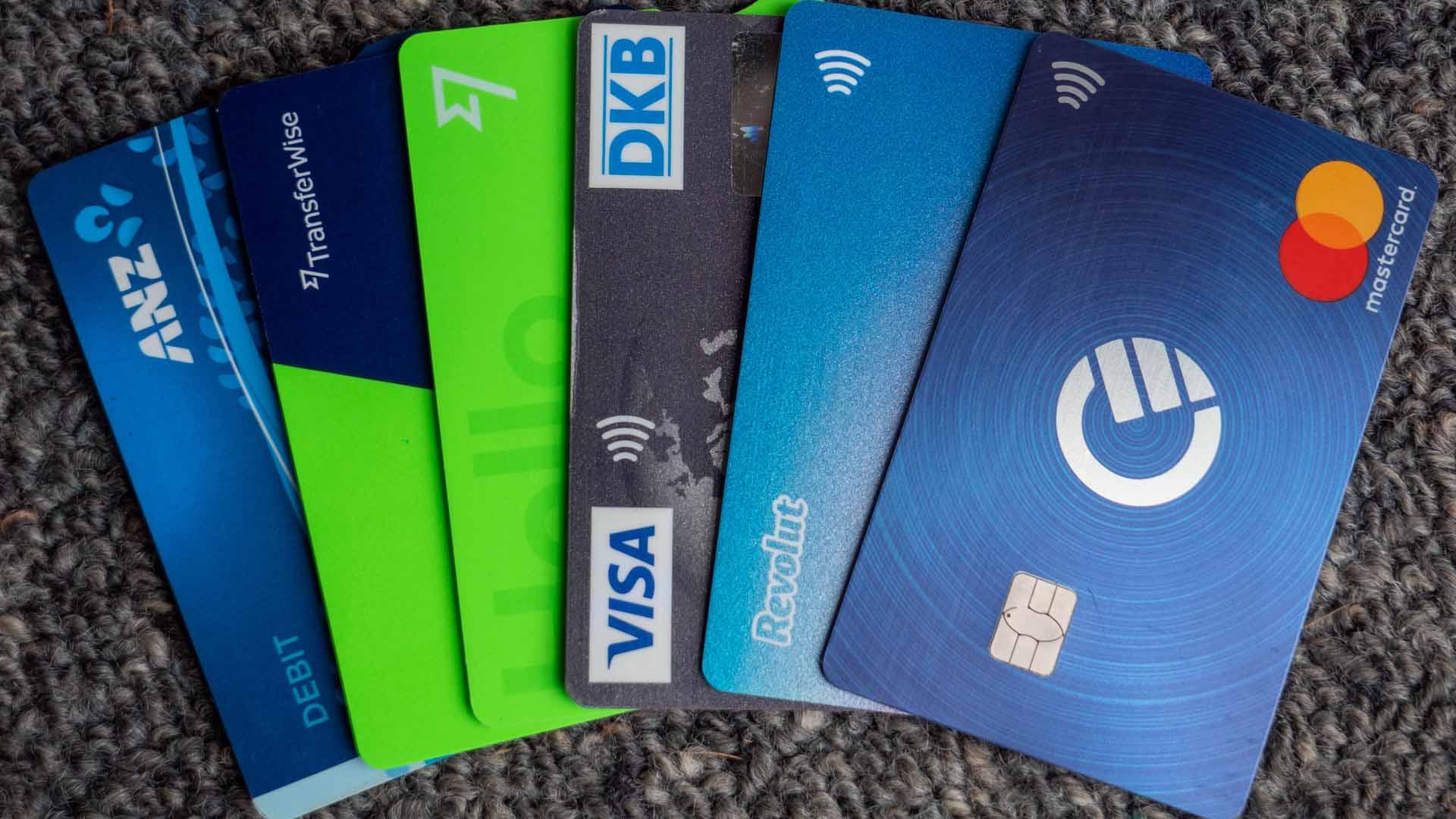 Unsere Kreditkarten die nutzen